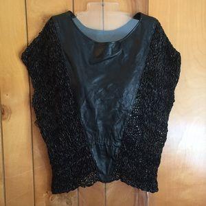 Tops - Women's vintage leather shirt Sz M